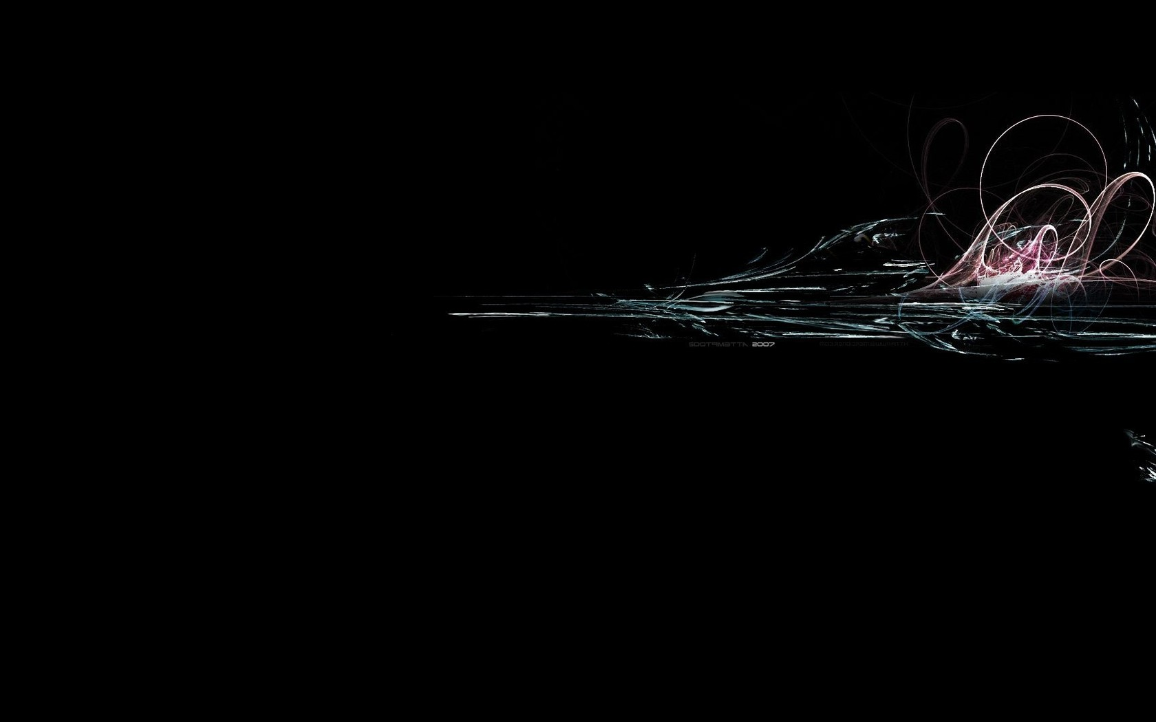 Black Abstract Wallpaper Hd Awesome black themed abstract 1680x1050