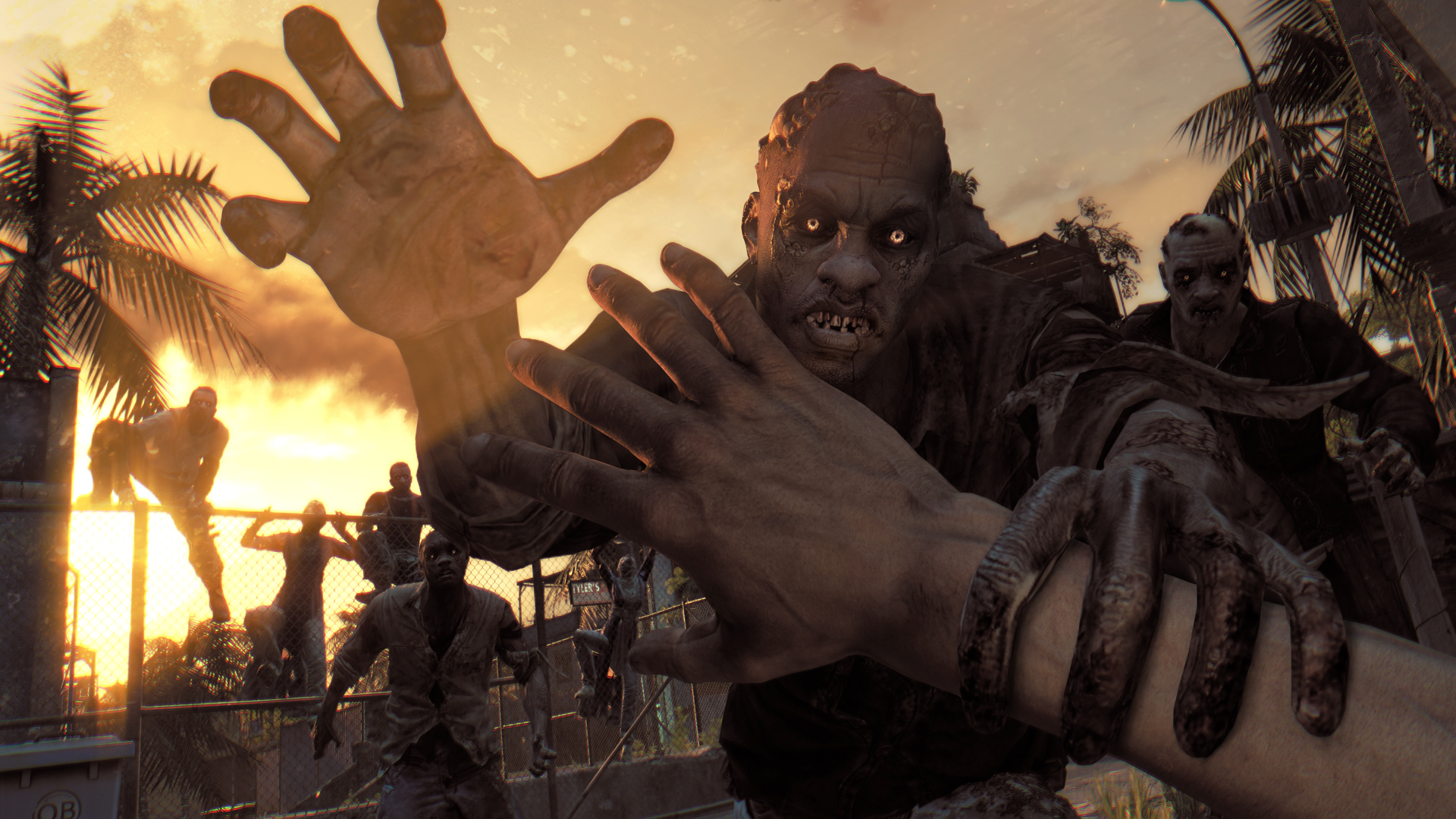 Dying light Zombie Attack Game Novelty Wallpaper Background Full 1920x1080