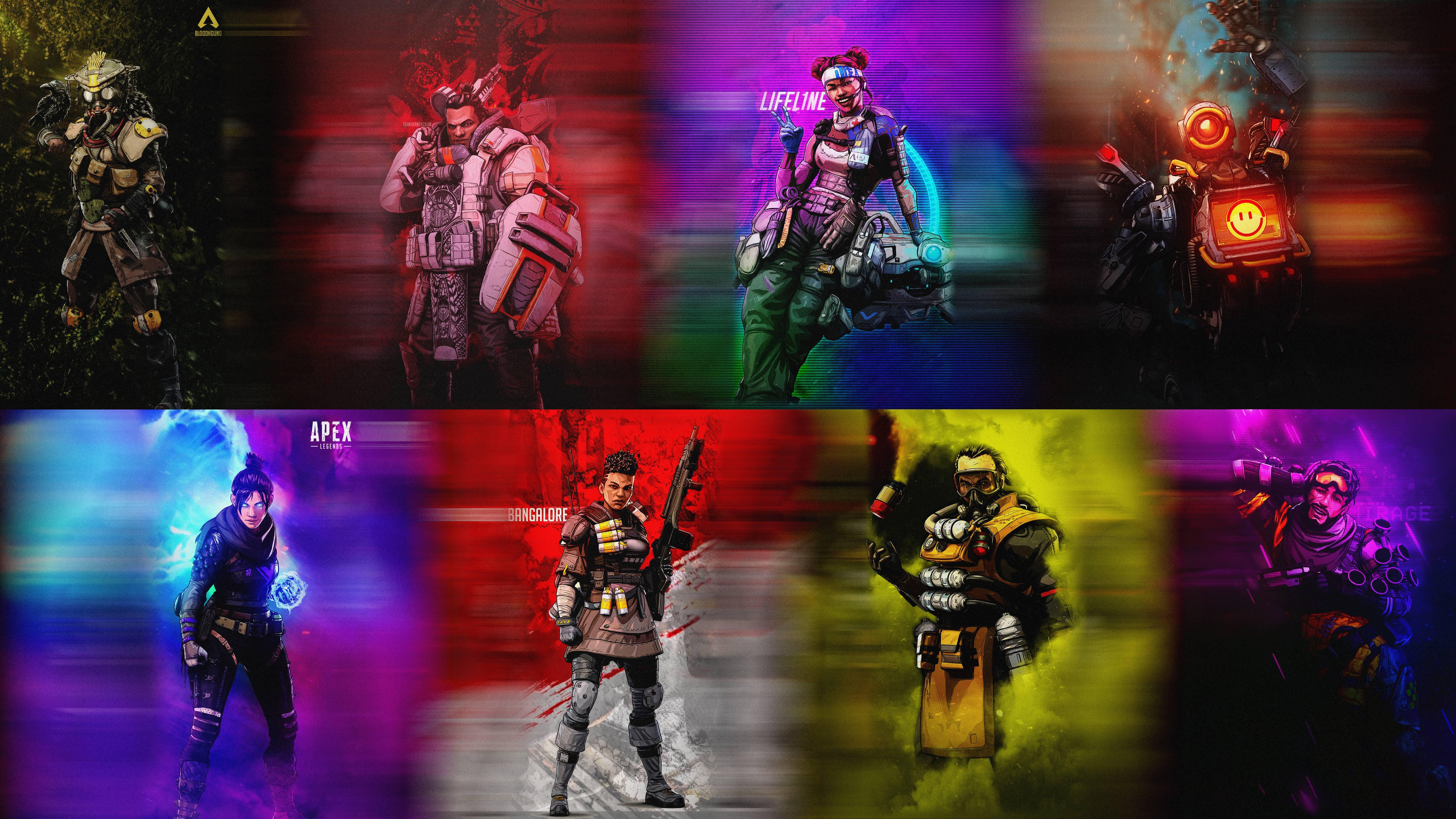Apex Legends 5k Retina Ultra HD Wallpaper Background Image 6827x3840
