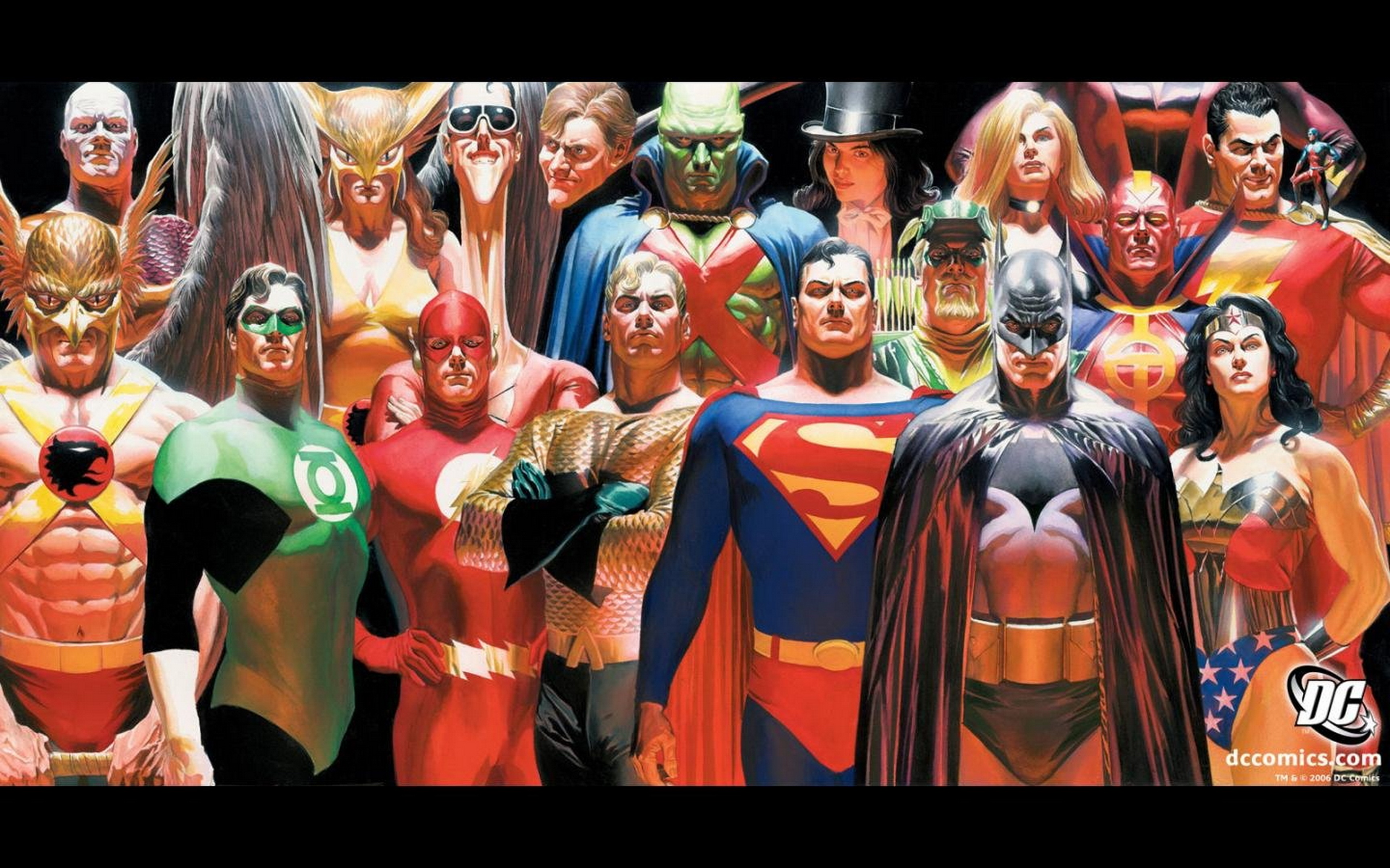 Dc Alex Ross Comics Art Justice League Wallpaper HD Wallpapers 1920x1200