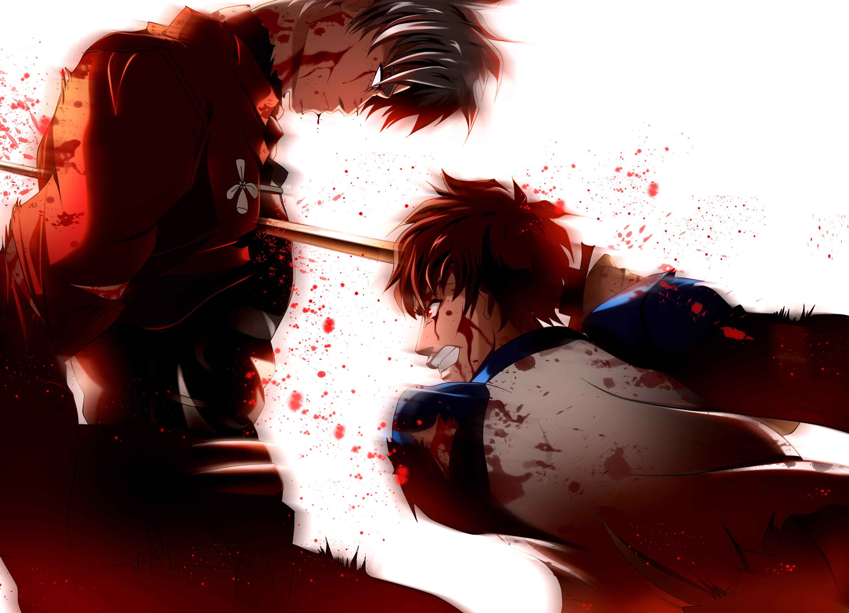 shirou fate stay night katana skyt2 sword weapon wallpaper background 3000x2165