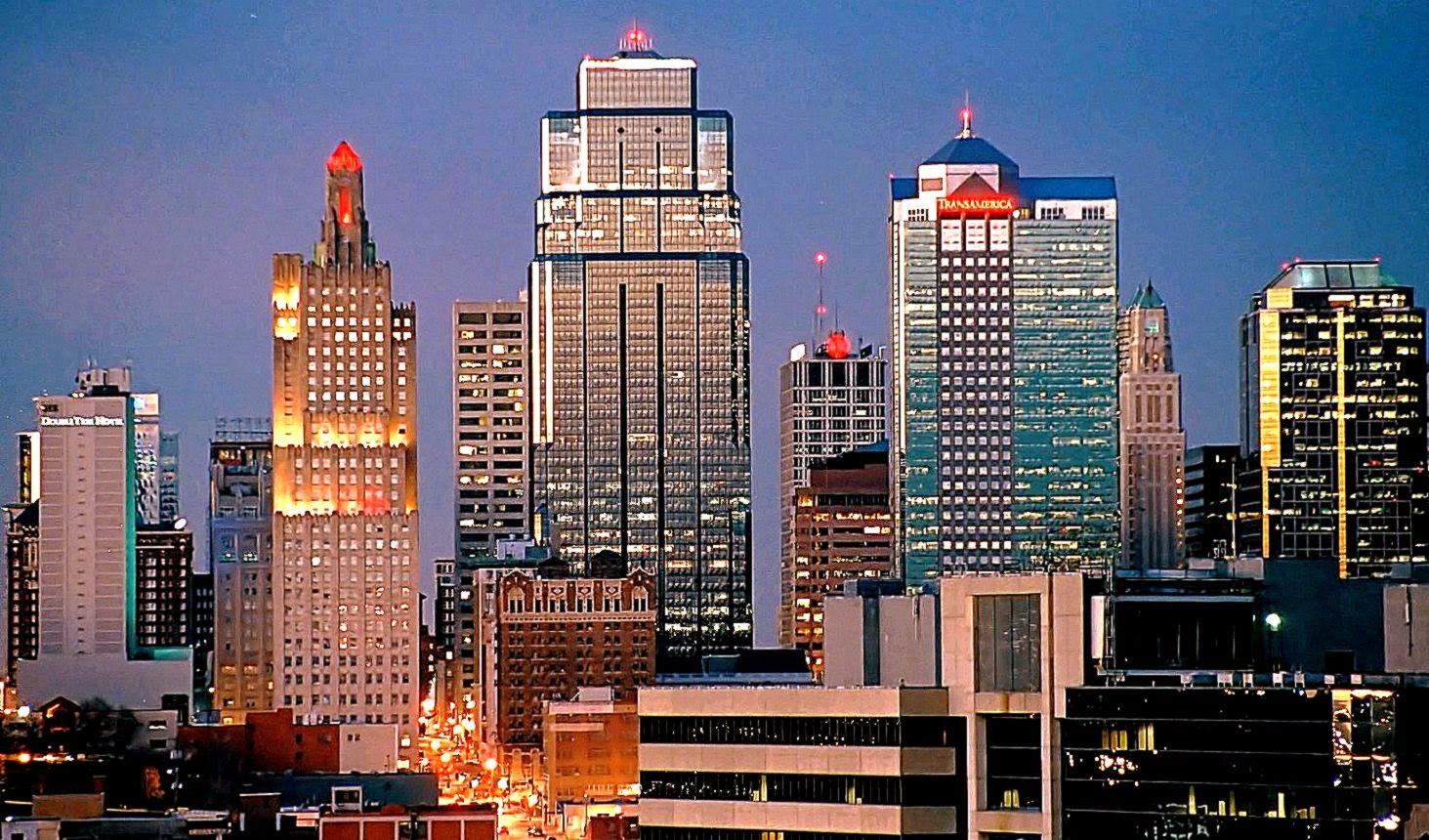 Kansas City Skyline Desktop Wallpaper Wallpaper Background 1463x860
