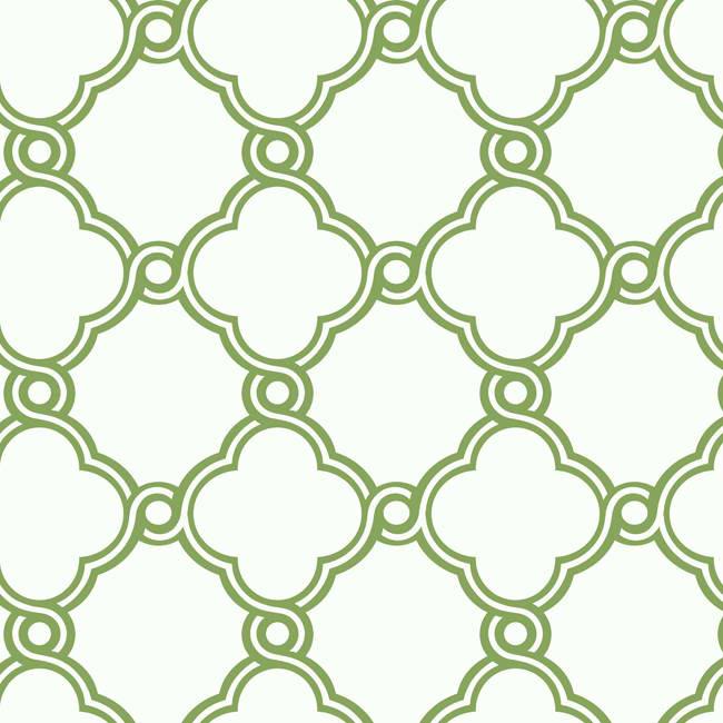Green AP7484 Open Trellis Wallpaper   Contemporary Modern 650x650