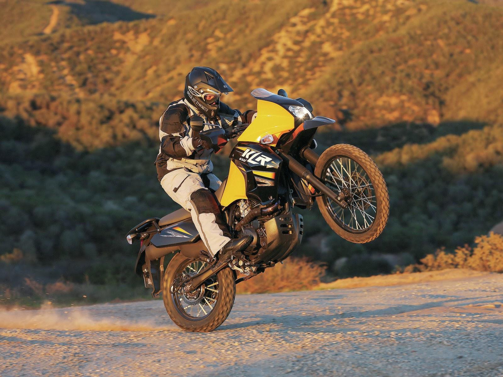 Bike Cars HD Wallpapers Kawasaki dual purpose Motorcycle 1600x1200