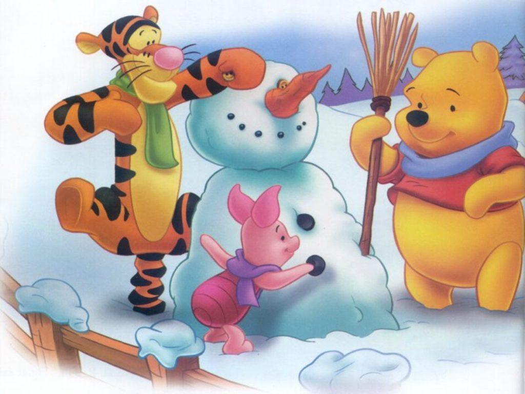 Winnie the Pooh Christmas - Christmas Wallpaper (2735503) - Fanpop