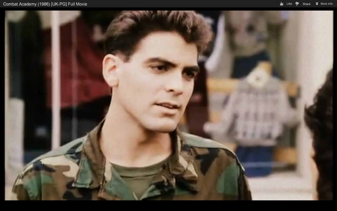 young george clooney   Google Search Stage Makeup 40 50 years 1280x800