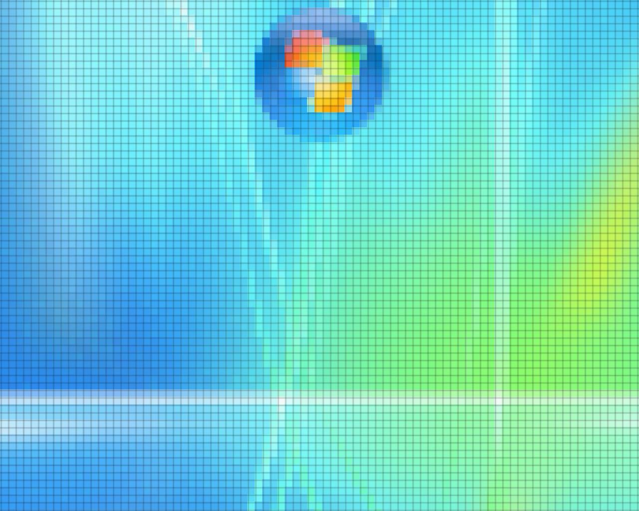 Windows XP Wallpaper 1280x1024 Windows XP Pixelation 1280x1024