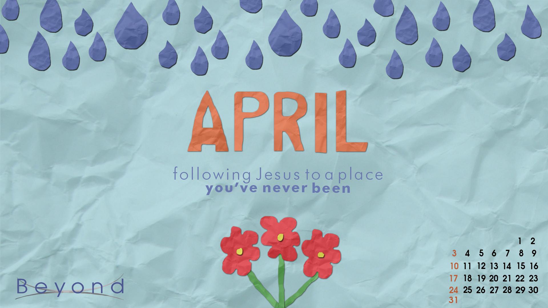 April Wallpaper