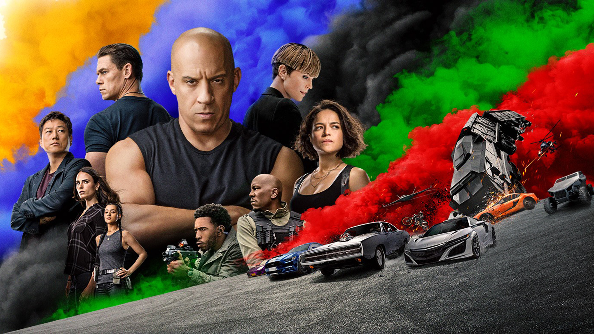 Fast and Furious 9 Wallpaper 1920x1080 by sachso74 1920x1080