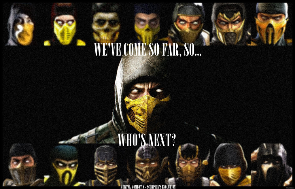 Mortal Kombat X   SCORPIONS EVOLUTION by StainBreak 1024x656