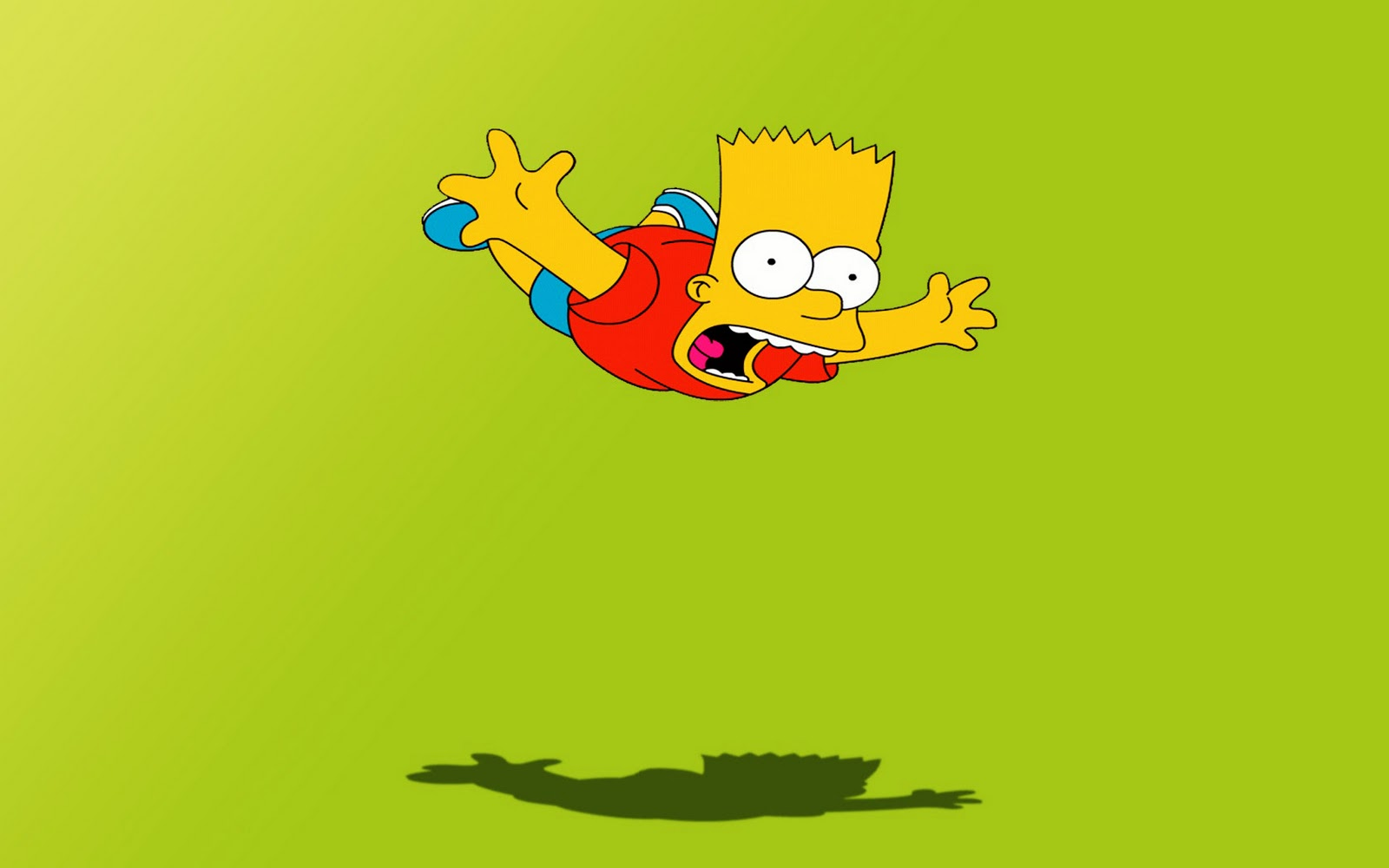 Funny Bart Simpson HD Wallpapers 1600x1000