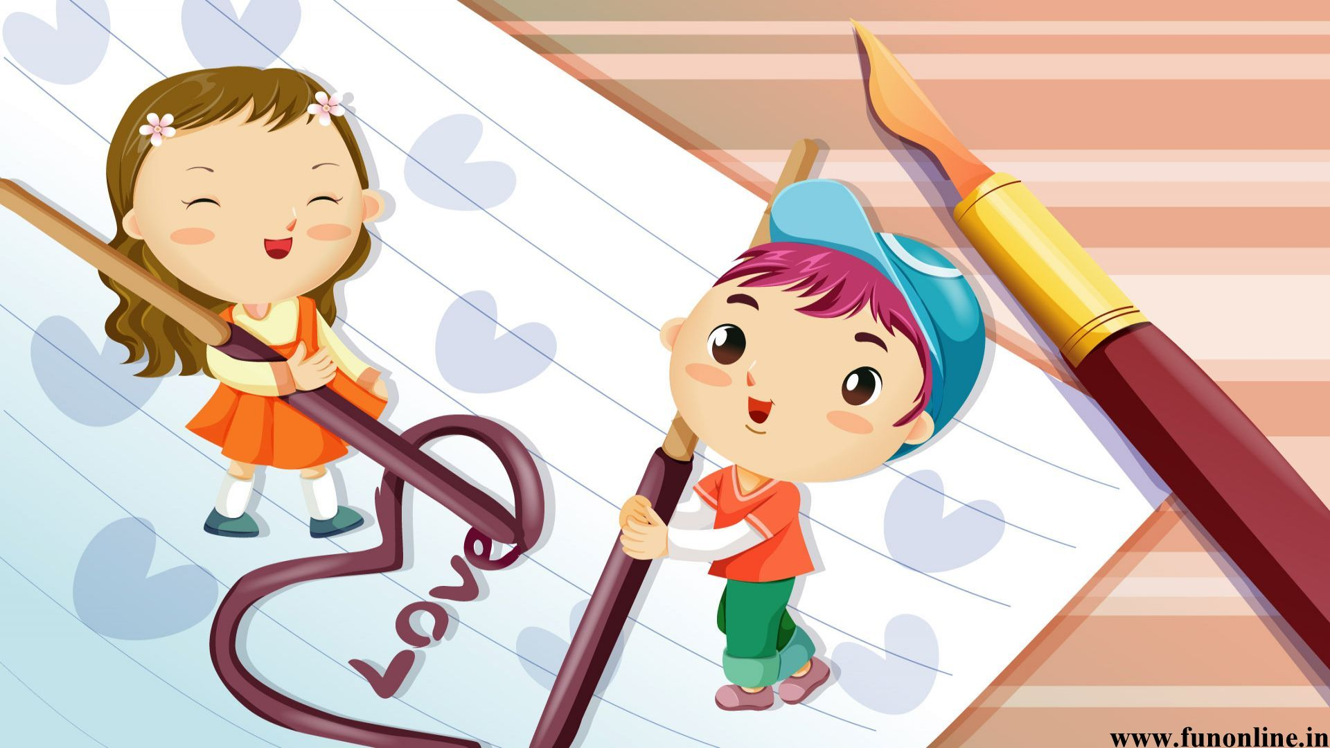 Cartoon Love Wallpapers Charming Cartoon Love HD Wallpapers For 1920x1080