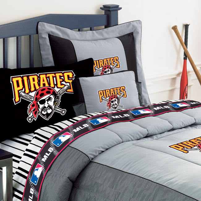 Pittsburgh Pirates MLB Authentic Team Jersey Pillow 650x650