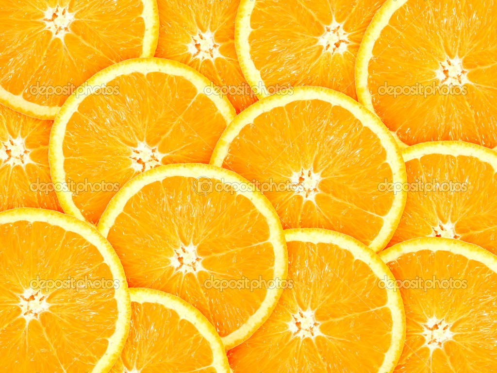 Orange Slice Vecto HD Wallpaper Background Images 1024x768
