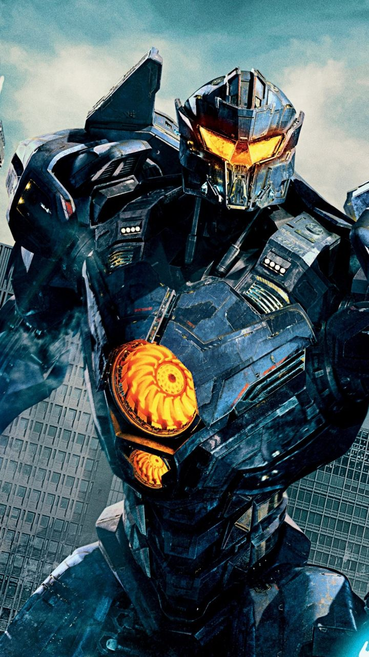 Download 720x1280 wallpaper Gipsy avenger Pacific Rim Uprising 720x1280