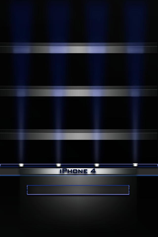 Iphone Ipod Touch Wallpaper Blue Shelf 640x960
