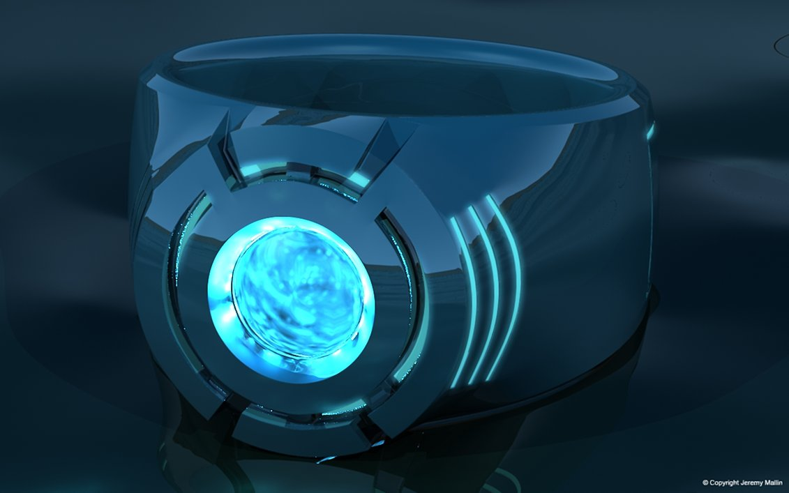 Blue Lantern Power Ring by JeremyMallin 1131x707