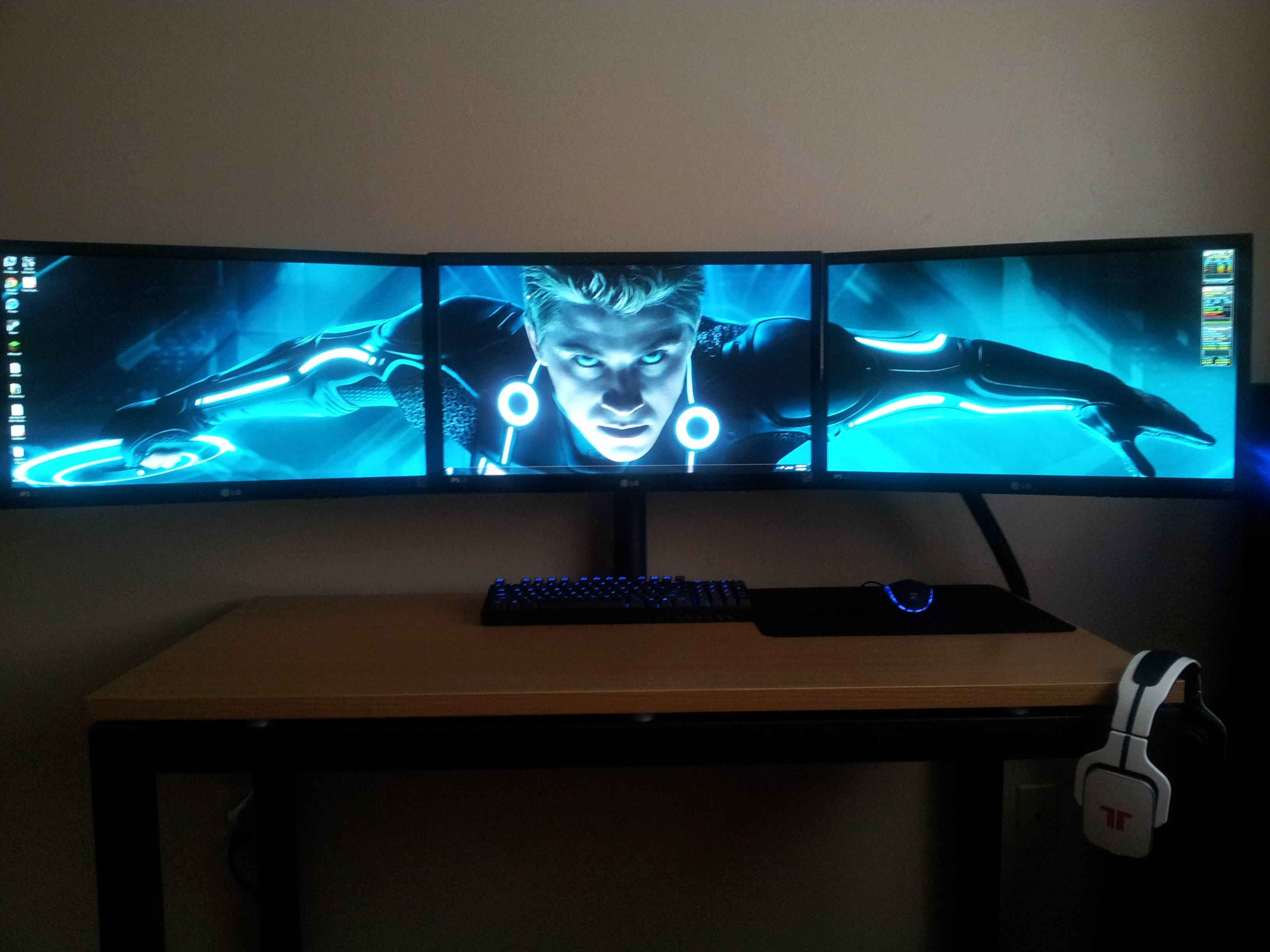 Gaming Setup Wallpaper Wallpapersafari