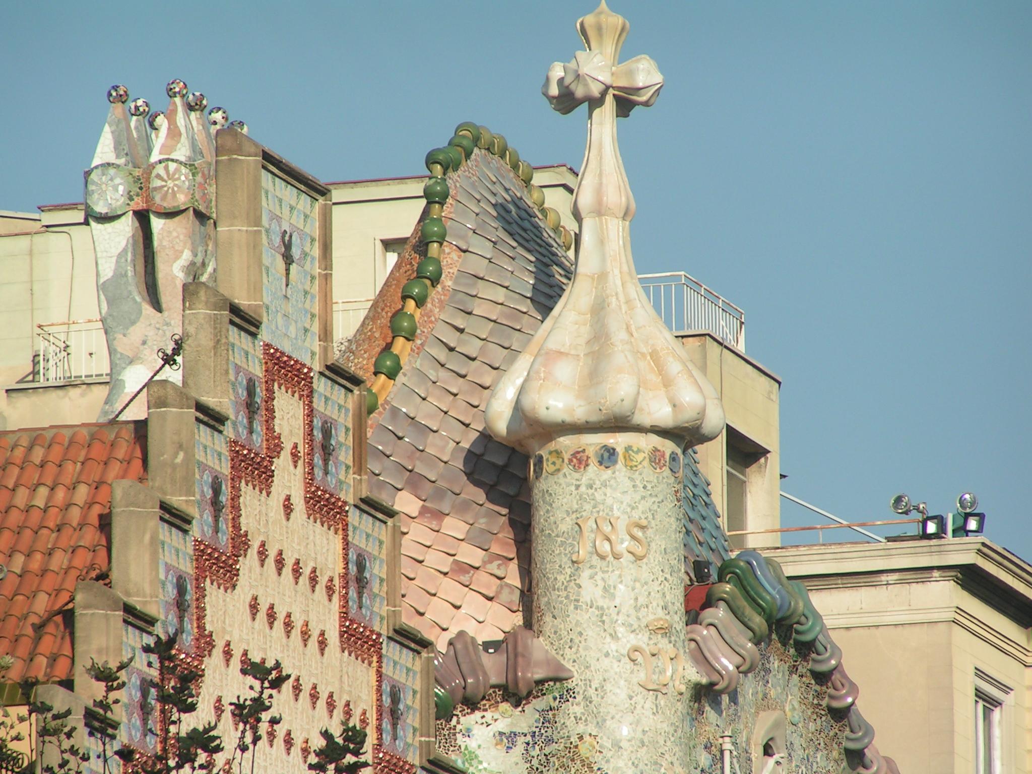 Gaudi Wallpaper Wallpapers 2048x1536