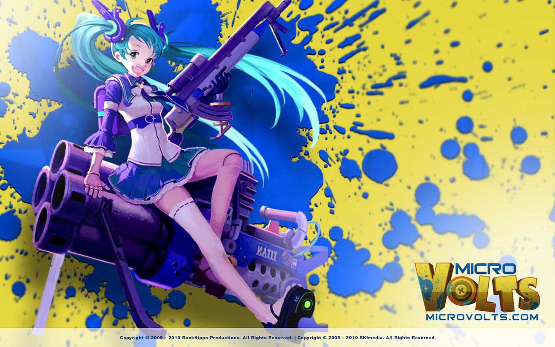 Micro Volts Wallpaper 1168799   Zerochan Anime Image Board 1440x900
