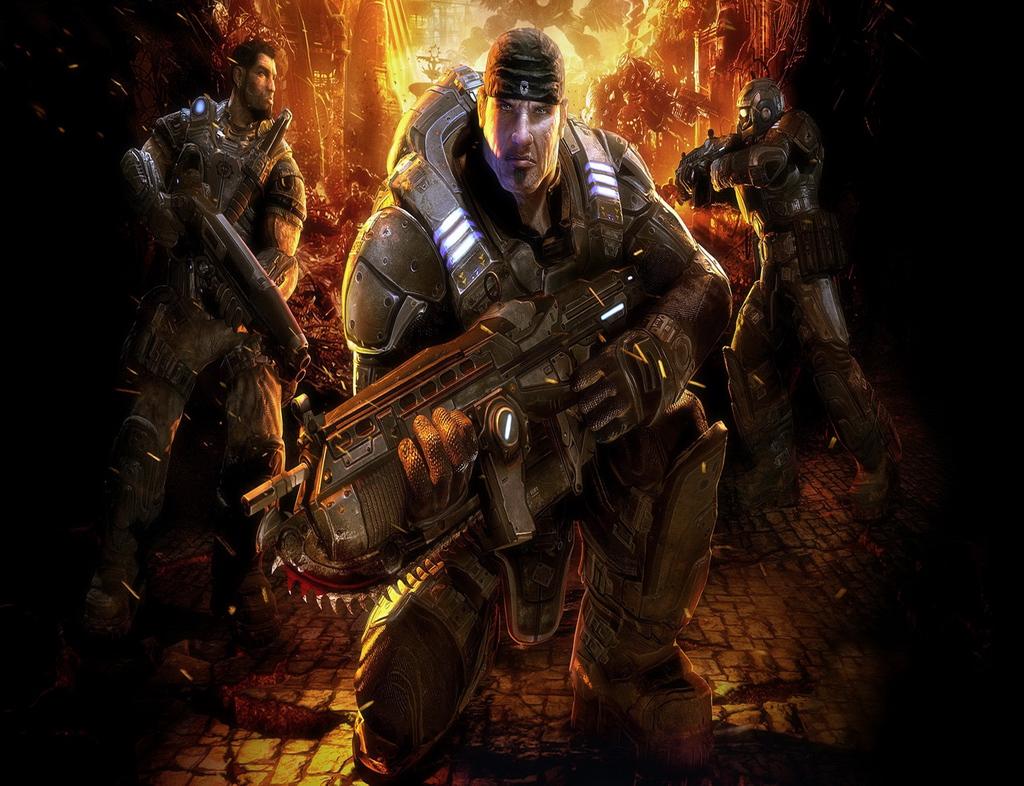 Gears Of War 3 Hd Wallpapers For Ipad: Gears Of War Wallpaper 1080p