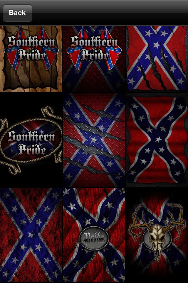 Redneck Flag Wallpaper rebel flag wallpaper 640x960