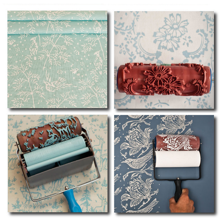 instructions on how to use the patterned paint rollers see youtube 783x783