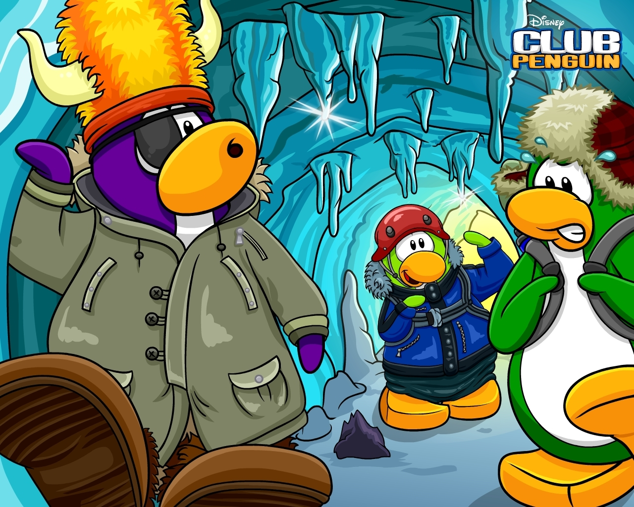 Club Penguin Wallpapers 1280x1024
