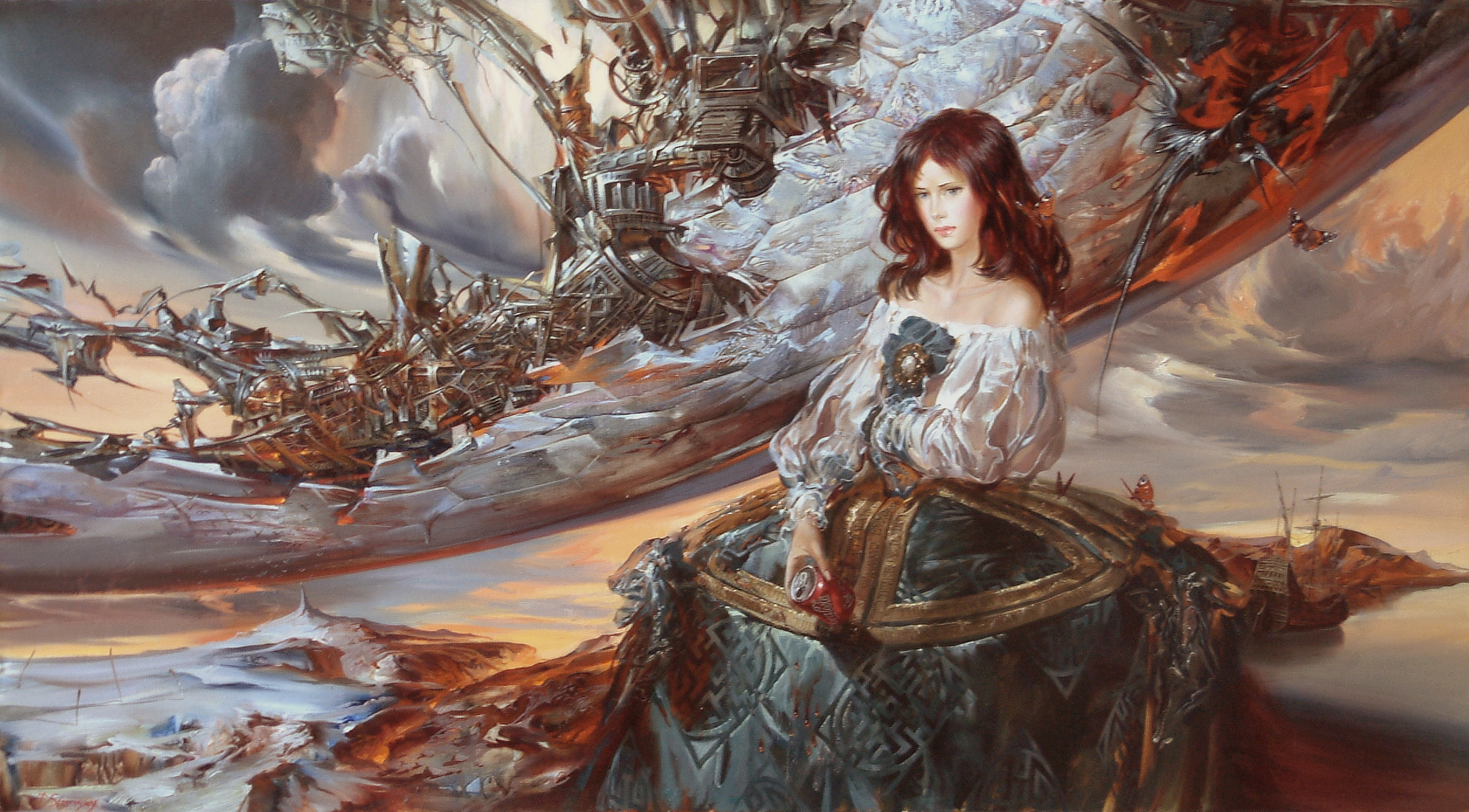 Steampunk Girl Wallpaper Images Crazy Gallery 2717x1502