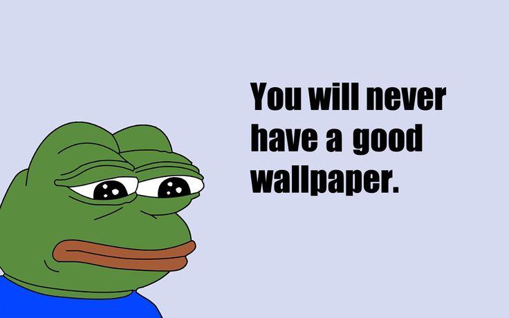 Explore Meme Pepe Wallpaper Meme and more 736x460