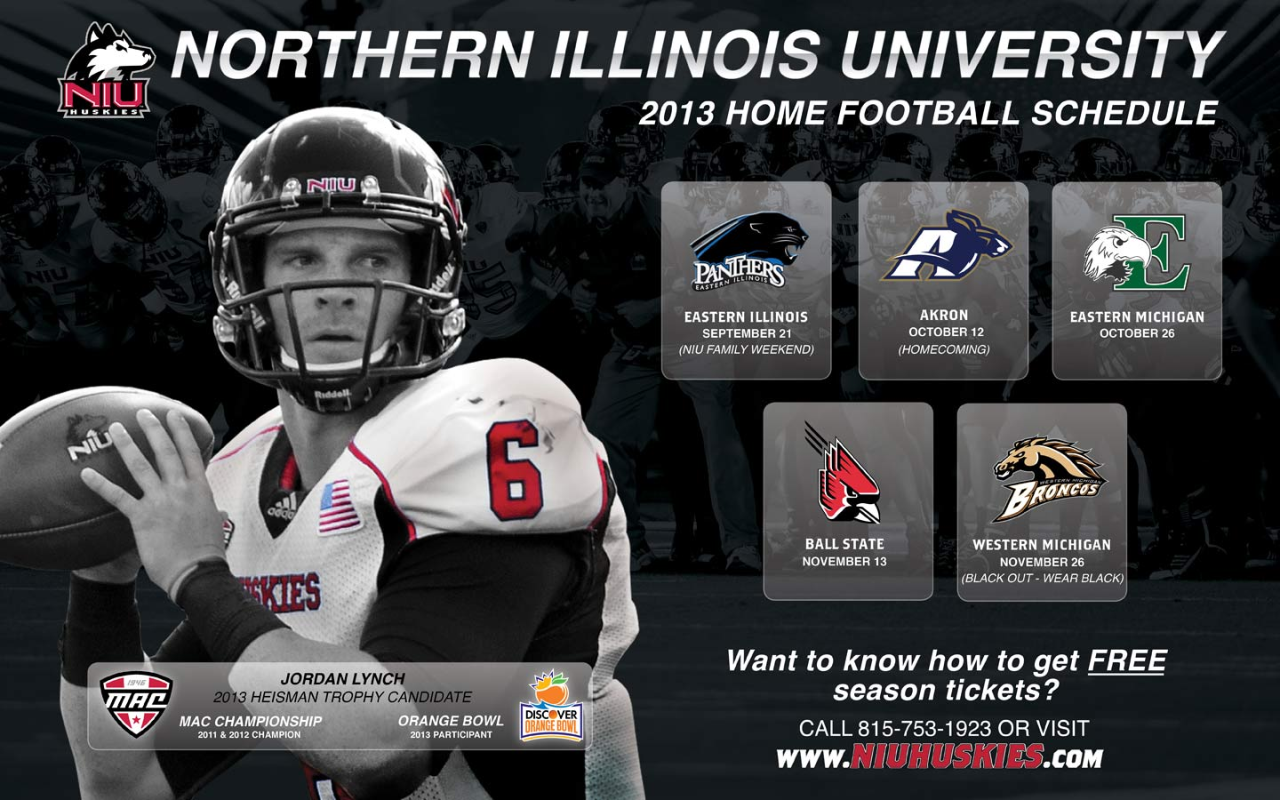 NIUHUSKIESCOM   The Northern Illinois Official Athletic Site 1440x900