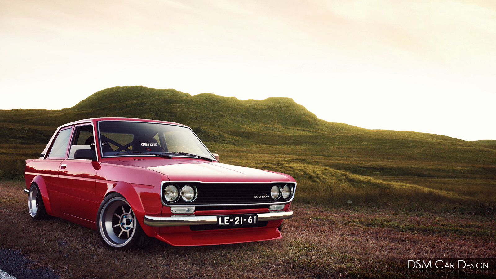 Datsun 510 4 Door Flares wallpaper 1024x768 8118 1600x900