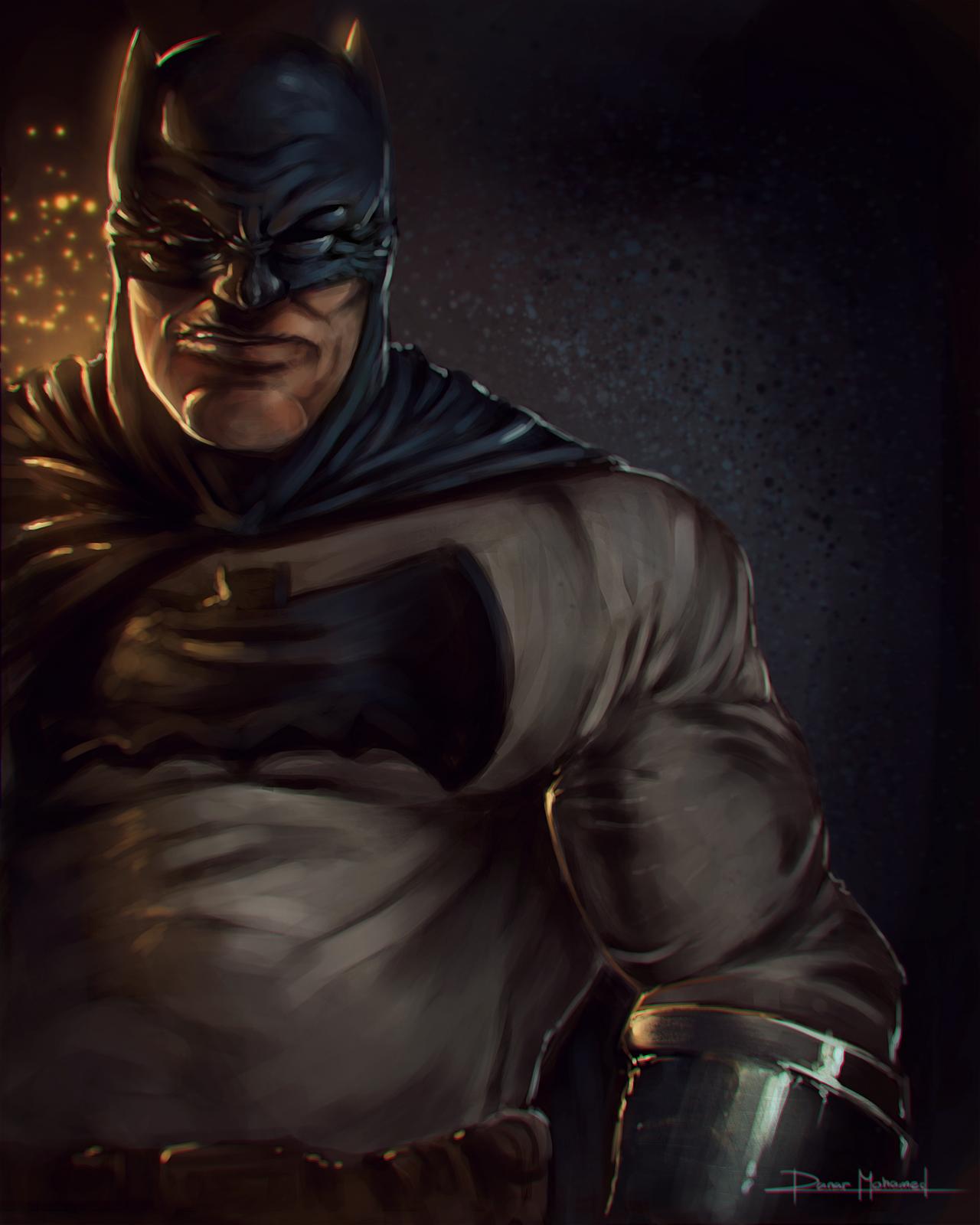 COMICRTICO El arte del Batman de The Dark Knight Returns 1280x1600