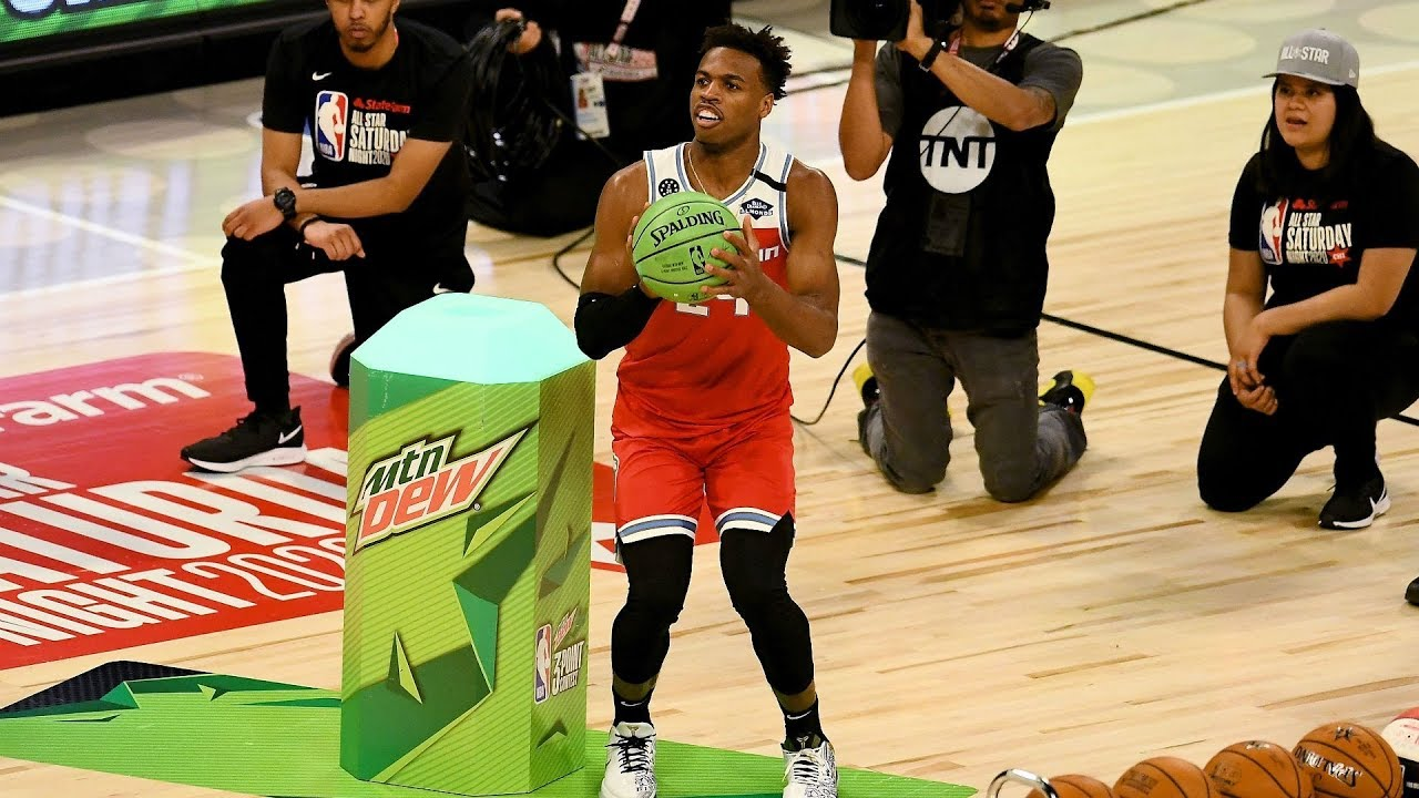 Devin Booker Buddy Hield Duel 2020 NBA 3 Point Contest 1280x720