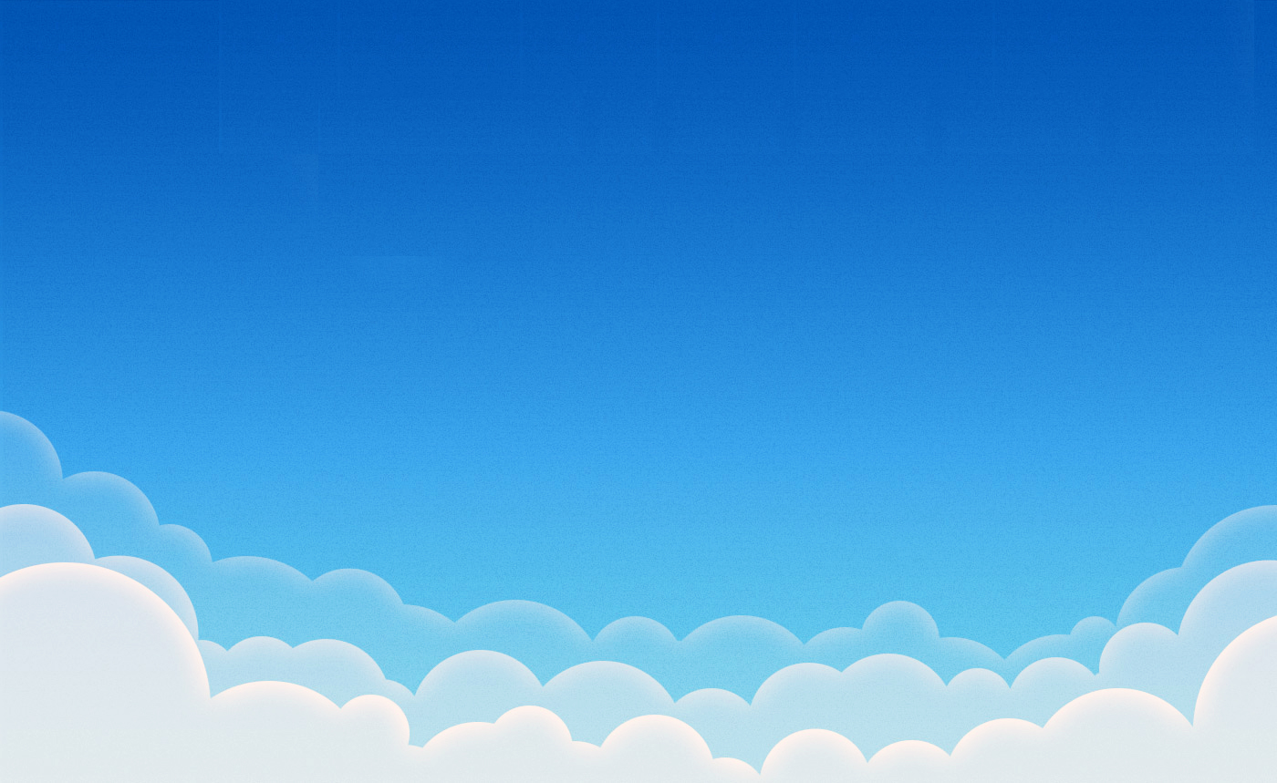 Clouds illustration PPT Backgrounds Template for Presentation   PPT 1400x859