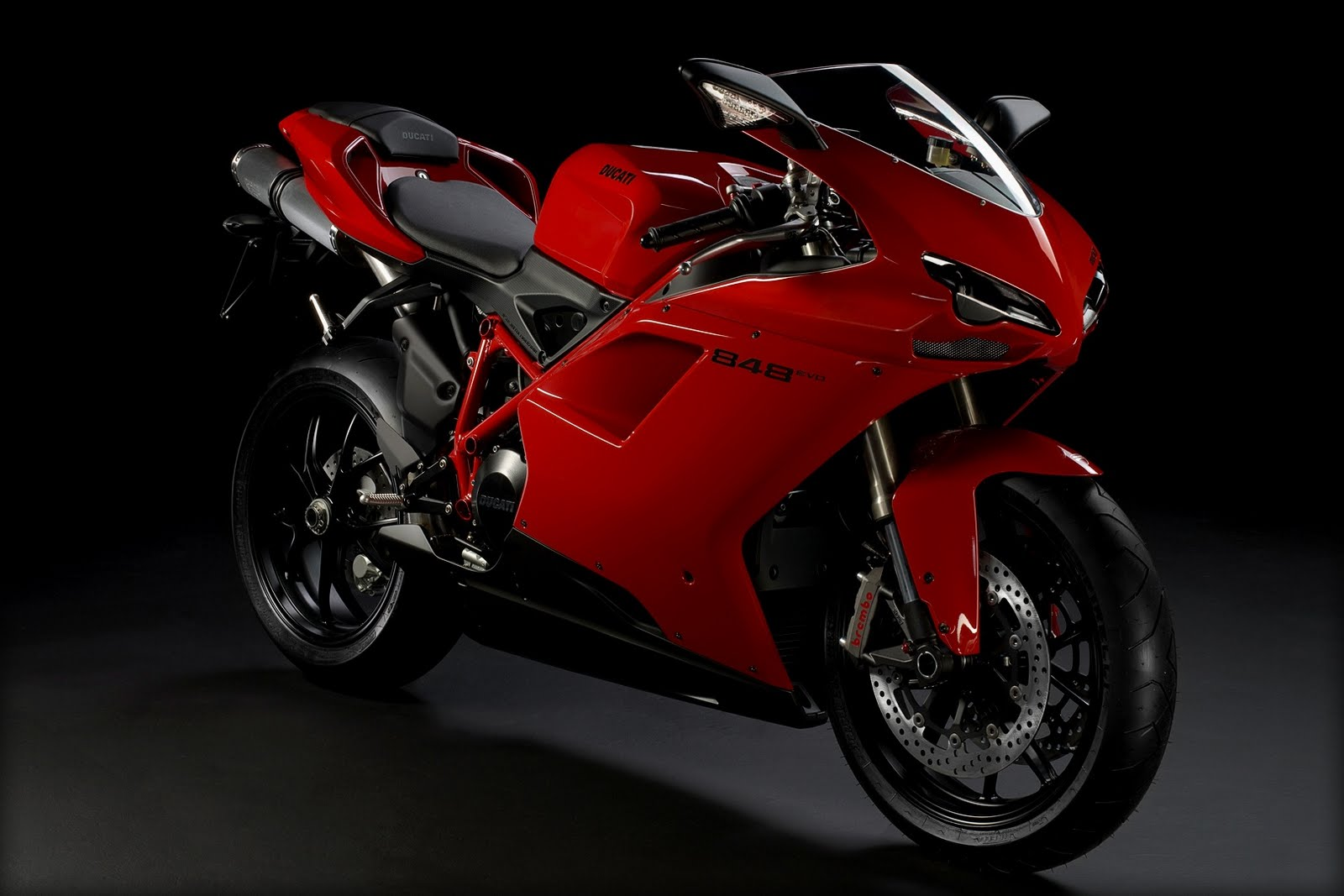 Top Motorcycle Wallpapers 2011 Ducati 848 Evo Motorcycle 1600x1067