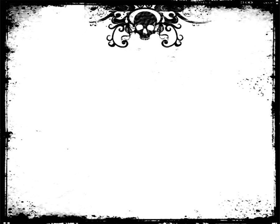 Skull Border 900x720