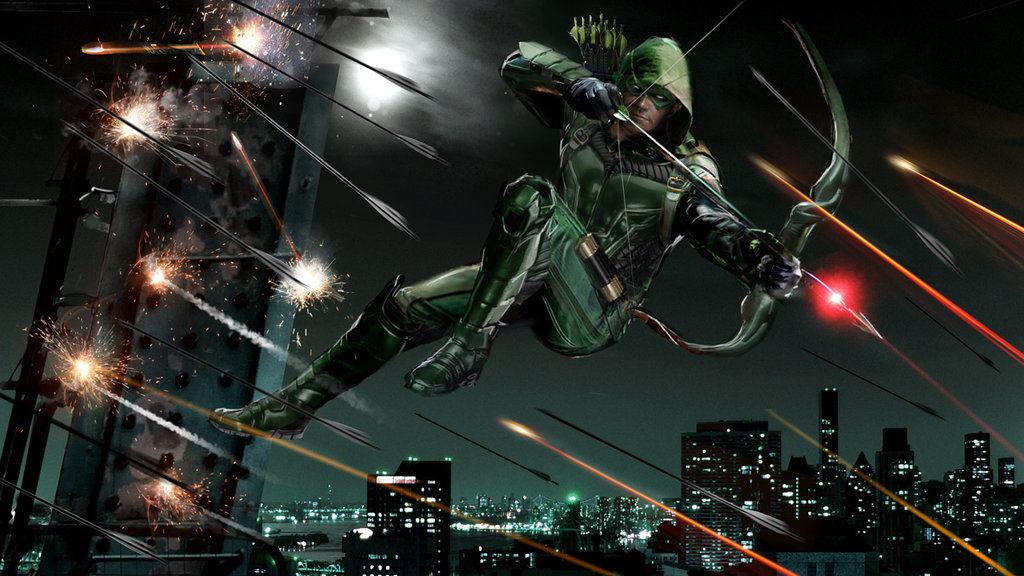 Green Arrow by uncannyknack 1024x576