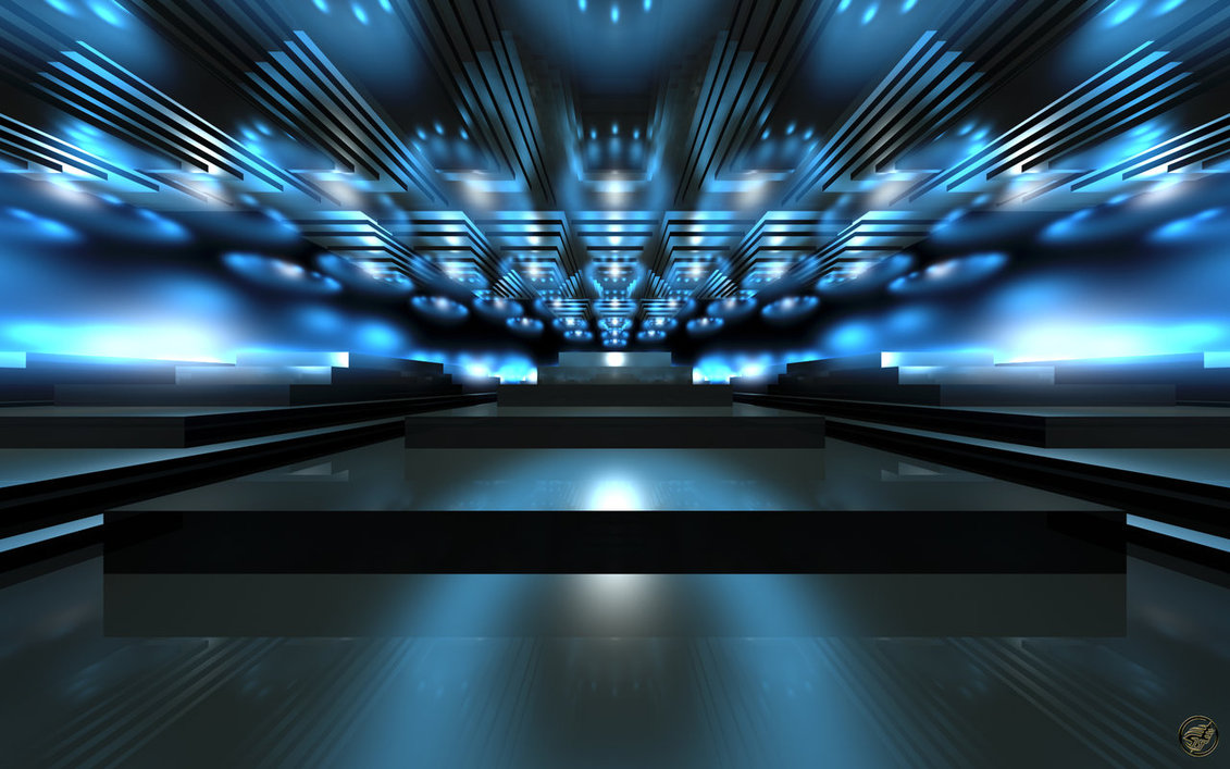 Empty Stage WS By IngostanStage Lights Wallpaper 1131x707