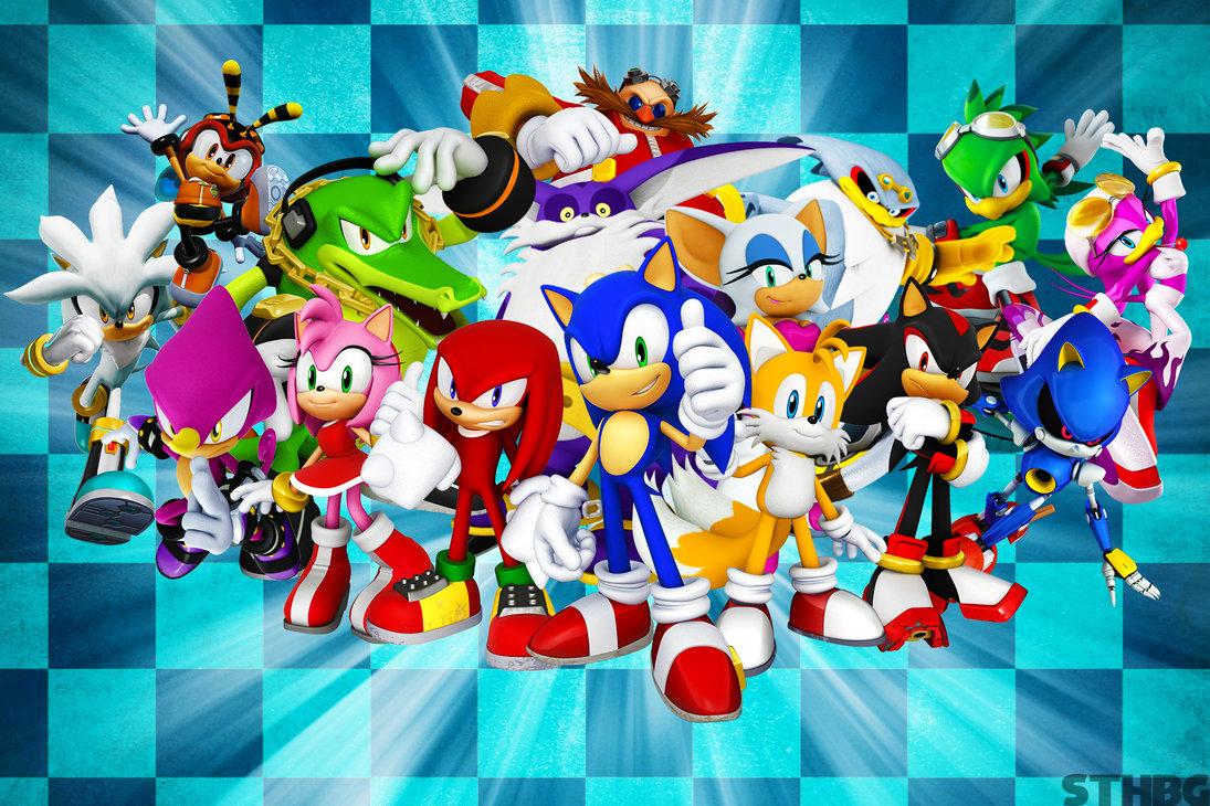 49 Sonic Characters Wallpaper On Wallpapersafari
