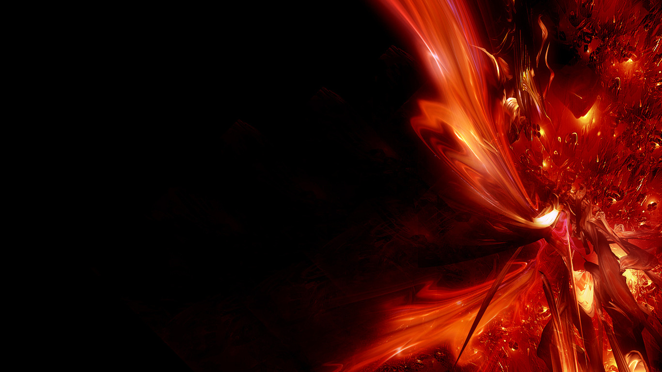 Cool Red Abstract Backgrounds Abstract red twitter 1366x768