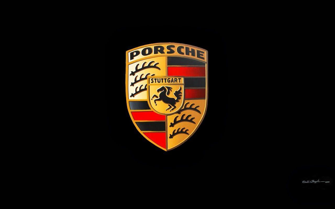Porsche AG   porsche logo blackjpg   Drive 1280x800