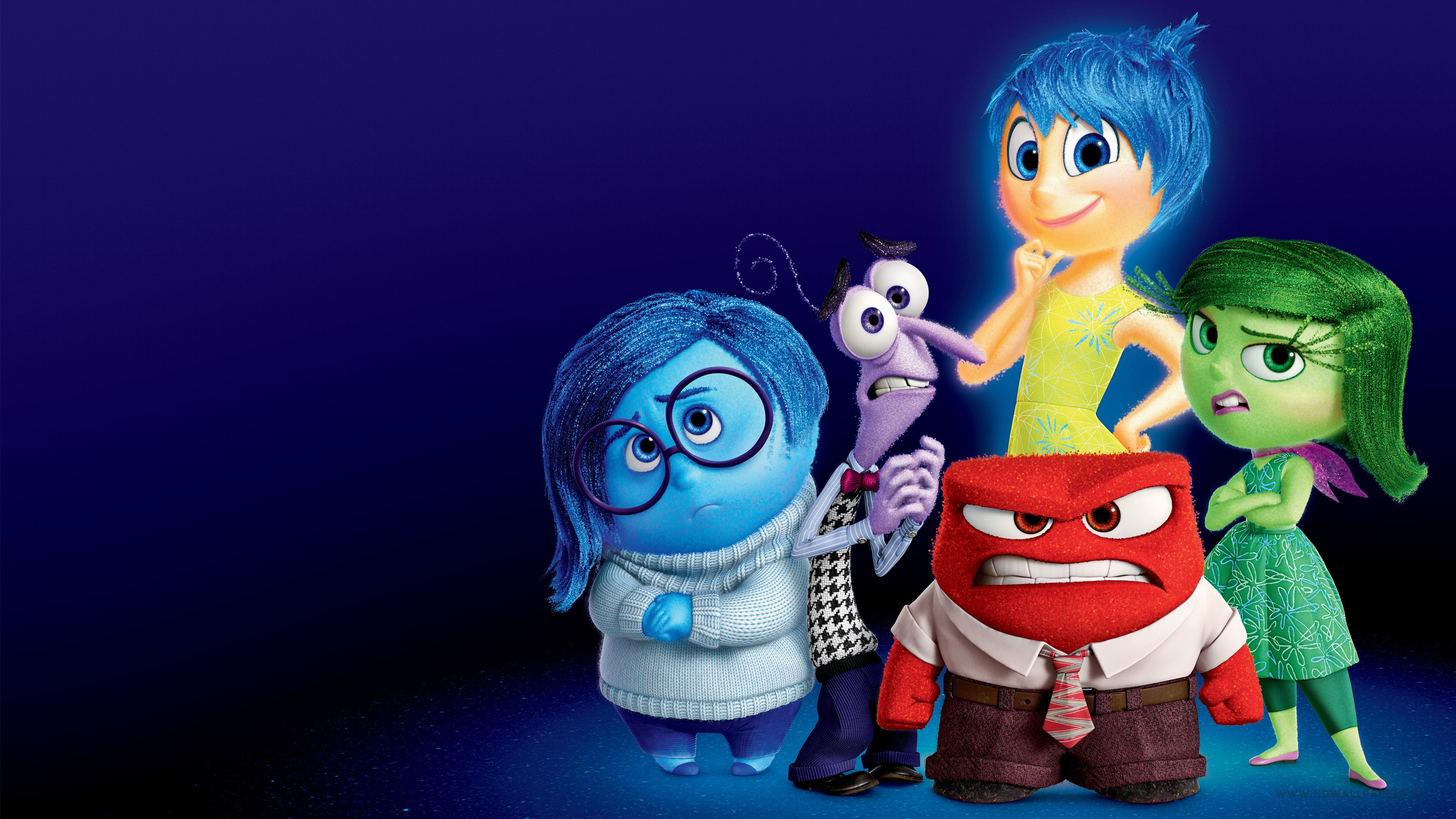 Inside Out 4k Ultra HD Wallpaper Background Image 3840x2160 3840x2160