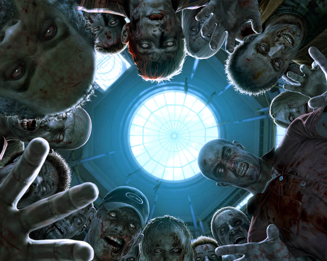 List Nation Wallpapers Zombie Wallpapers 1 1280x1024