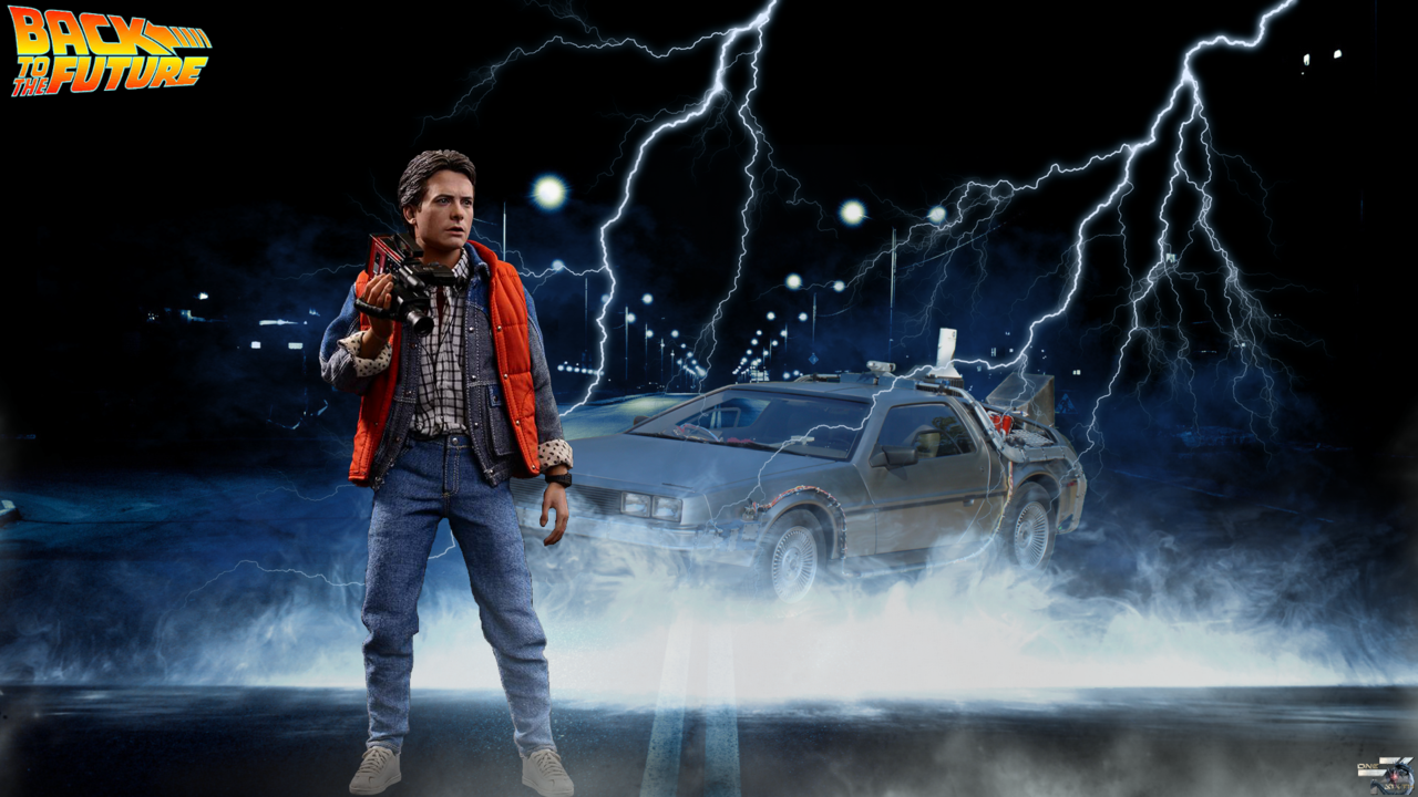 Back To The Future HotToys Full HD Wallpaper by OneSixthTZ on 1280x720