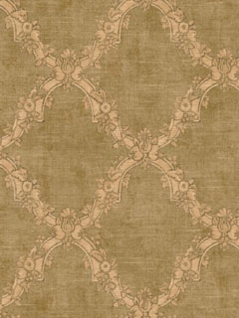 Agathius Lattice Wallpaper Green   Traditional   Wallpaper   by 480x640