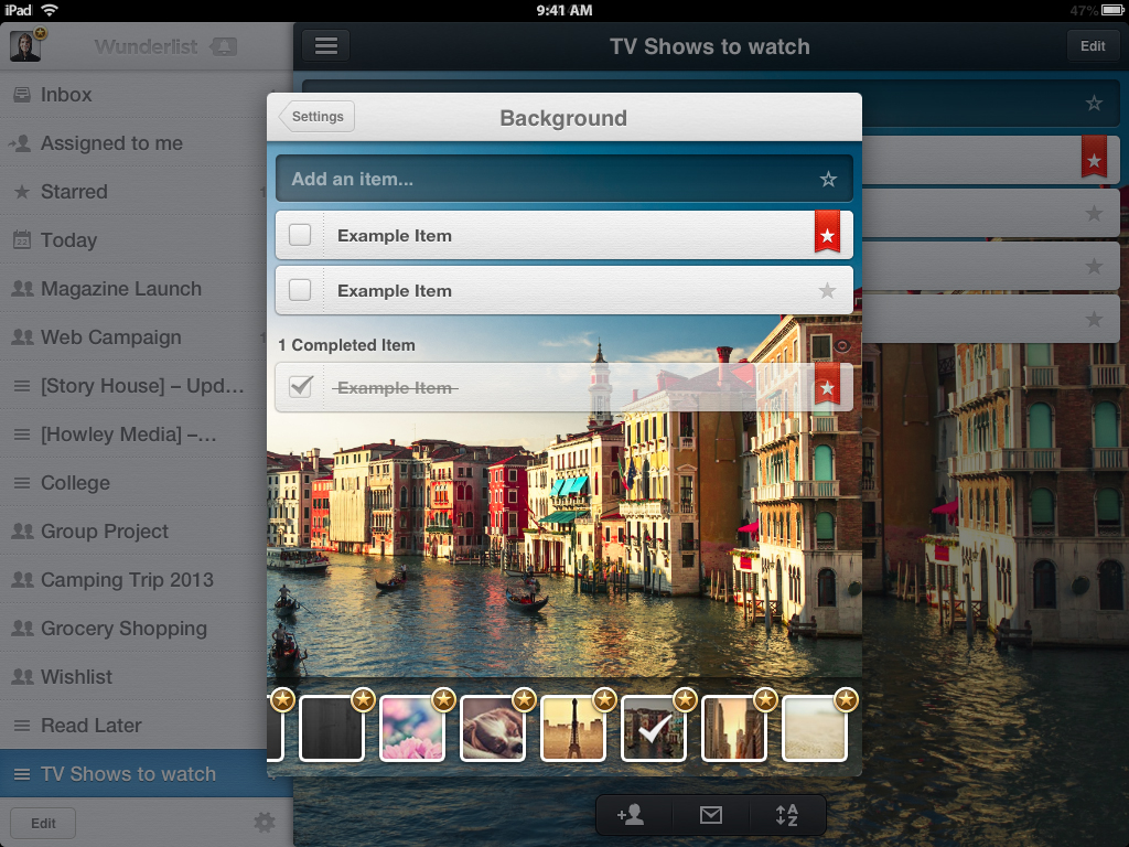 Wunderlist Pro is here for iPhone iPad Mac and the Web 1024x768