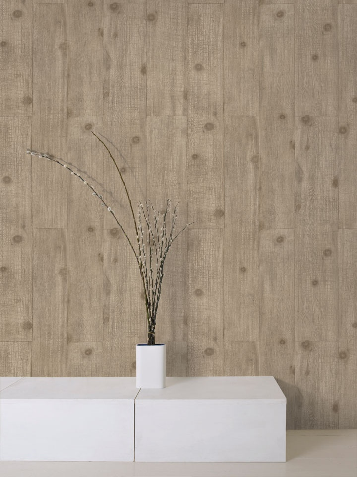 Faux bois wallpaper coming soon to Rona