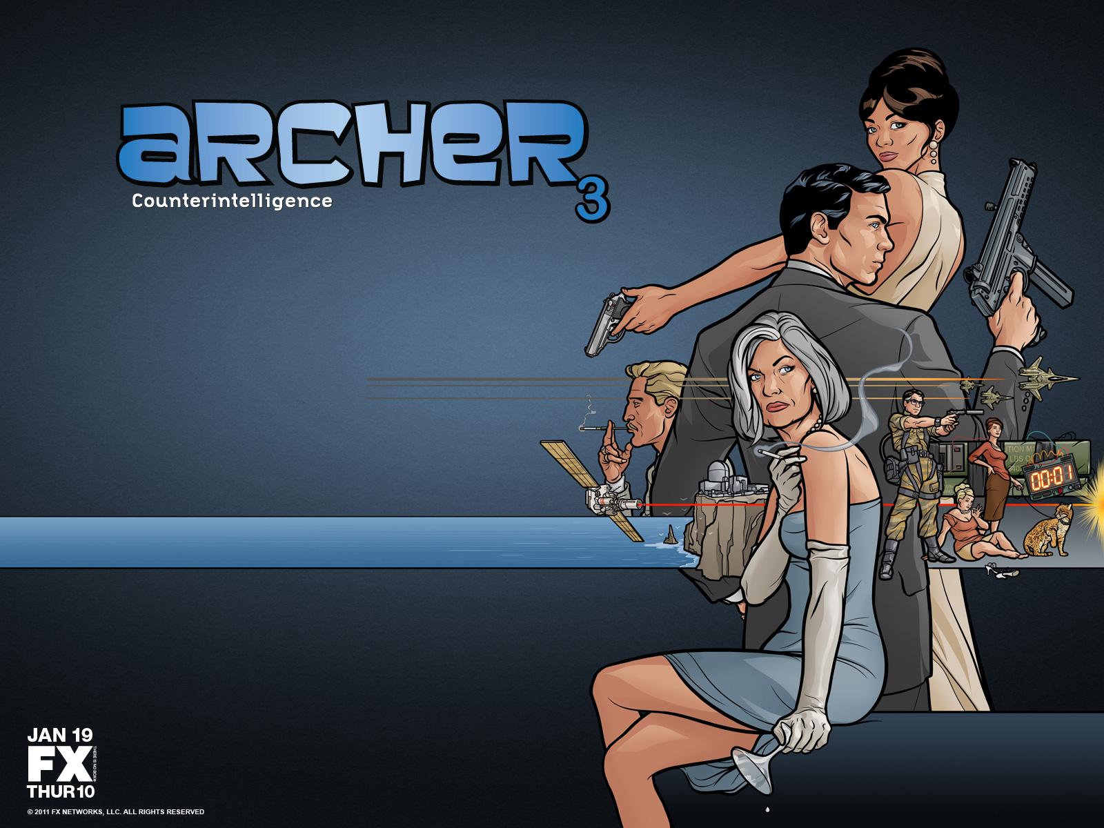 Archer FX Wallpaper - WallpaperSafari