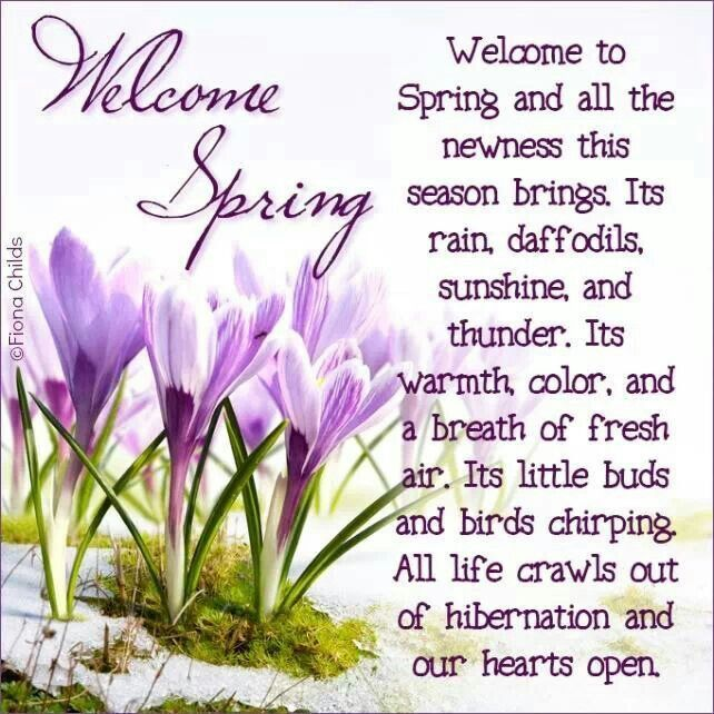 Welcome Spring Pictures Photos and Images for Facebook 642x642